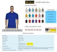 Wings Label Polo tshirt