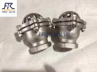 Screw foot valve