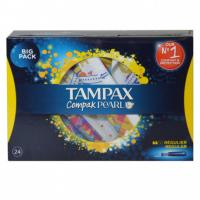 Tampax compak pearl 24 pc. regulier