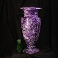Vase from jade