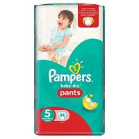 Pampers pants baby dry 44pcs	size 5 [nl/f/d/uk/se/sf/n/dk il]