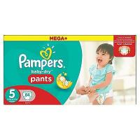 Pampers pants baby dry 2x42pcs	size 5 [nl/f/d/uk/il]