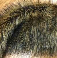 Wolf faux fur