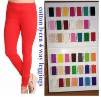 4 way cotton Lycra leggings