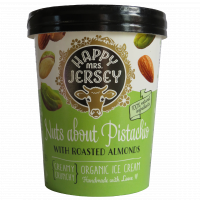 Happy mrs. jersey - premium organic ice cream