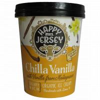 Happy mrs. jersey - premium organic vanilla ice cream made with vanilla from madagascar