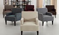 Corktown Cochrane Solid Pattern Accent Chair