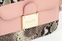 Sleek Pink Messenger Bag_6