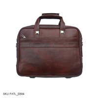Laptop office bag || genuine leather