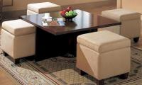 Centre Table with Four Stools