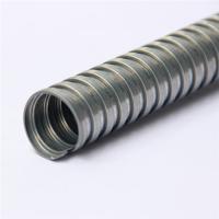 Galvanized steel flexible conduit for cable management