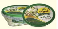 حلاوة  بالفستق - halva with pistachio