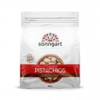 Salted and saffron pistachios