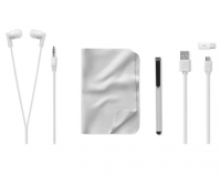 Phone travel set including earphones