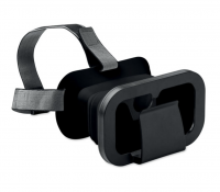 Foldable virtual reality glasses