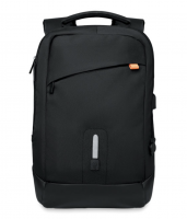 Nylon Power Backpack With Built-in Removable