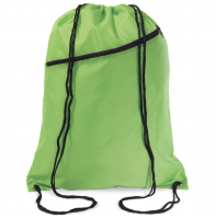 Large drawstring bag in 190t polyester