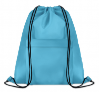 Large drawstring bag in 210D polyester