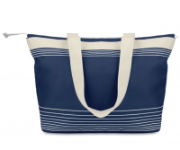 Beach bag or shopping bag in 600d polyeste