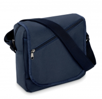 City bag in 600d polyester with zippered main compartment