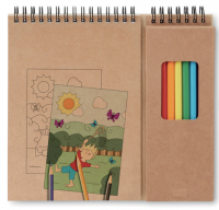 Compact artist set for children