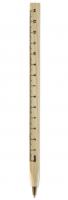 Wooden ruler pen