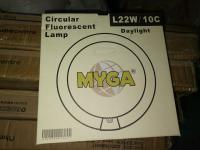 Myga circular fluorescent lamp l22w/10c
