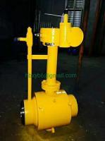 Welding cast steel ball valve gas