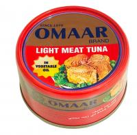 Solid tuna omaar 95 gm in veg. oil