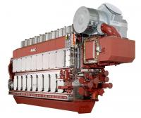 Mak engine power system