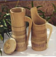 Bamboo  water jug