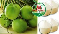 VietNam Fresh Young Coconut Diamond Cutting