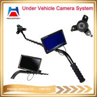 Portable digital visual under vehicle checking camera uvss with dvr    hpc-v3d