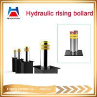 Hot sale removable traffic manual type bollrad reflective flexible rising bollard hydraulic rising bollard