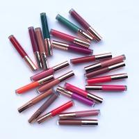 MS-LP-24 sexy Waterproof and touchproof Nude Matte Lipstick lip gloss_3