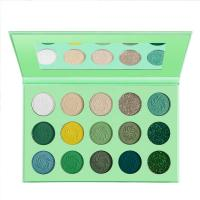 Ms-ep-15 7 matte colors and 3 glitter colors eyeshadow palette