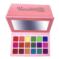Ms-ep-18 18 matte colors eyeshadow palette