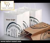 Custom paper shopping bag