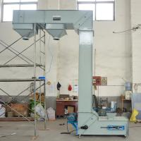 Vertical z type bucket elevator