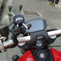 Motorcycle Mount with Universal X-Grip SmartPhone Cradle_8