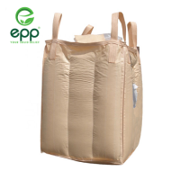 Vietnam supplier tubular big bag Q bags circular PP woven packaging bags for Powder and sand canvas tote 1m3 baffle Q jumbo bag