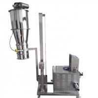 Bulk material vacuum feeder conveyor