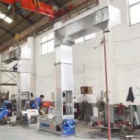 stainless steel bulk material bucket elevator