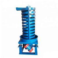 Bulk material vibrating lifting conveyor feeder vertical spiral conveyor machine