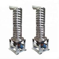 Spiral Screw Conveyor,Logistics Industry Spiral Vertical Lifter