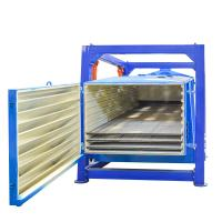 Gyratory screener sifter for minerals powder