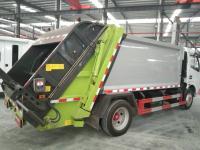 Compactor garbage trucks