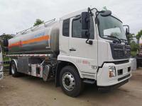 Anti-static fuel tanker trucks