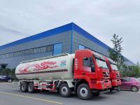 Powder material tanker trucks