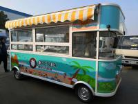 Electric food trucks with good mobility